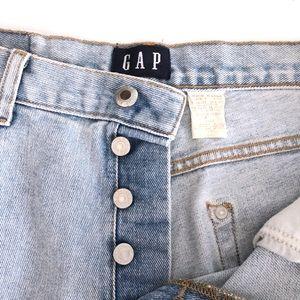GAP Shorts - Vintage Gap High Waisted Cuffed Button Fly Shorts